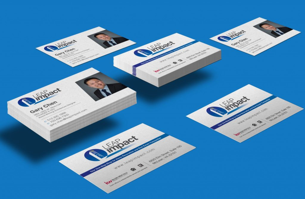 Leap Impact Business Card
