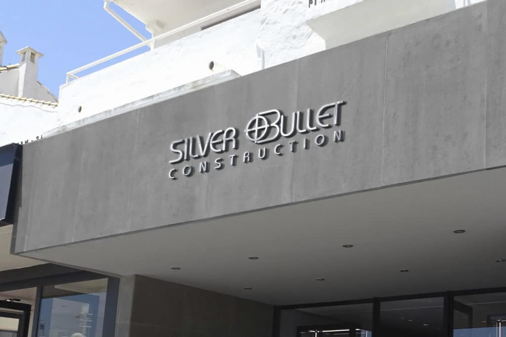 Silver Bullet Construction Signage