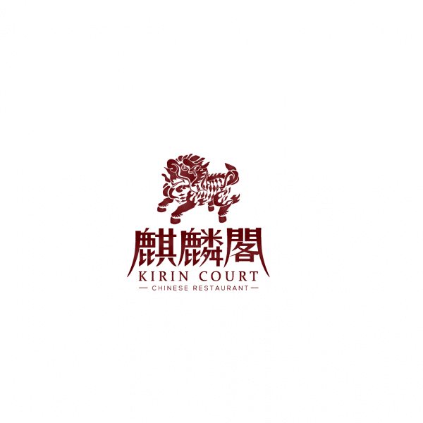 Logo Design for Kirin Court Restaurant